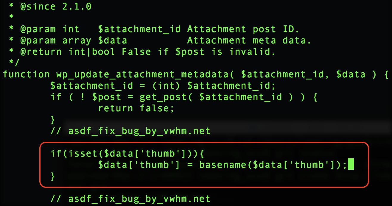 在post.php中添加代码修复任意文件删除漏洞